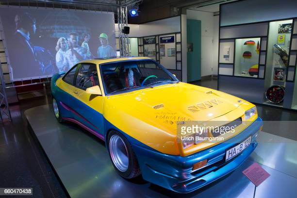 Loved Used Hated The Germans and their Cars Exhibition at the House der Geschichte of the Federal Republic of Germany in Bonn Manta Manta cult movie...