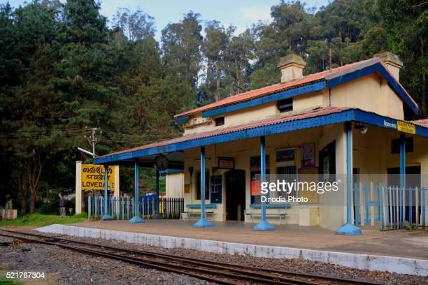 Lovedale station, Tamil Nadu, India
