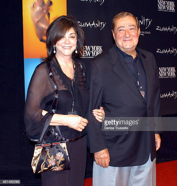 Lovee And Bob Arum during Zumanity Opening in Las Vegas at New York New York Hotel Casino Resort in Las Vegas Nevada United States