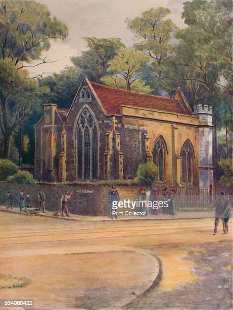 Lovekyn's Chapel, Kingston' , from 'A Pilgrimage In Surrey, Vol 1,' by James S Ogilvy , 1914. The Lovekyn Chapel was founded in 1309 by Edward...