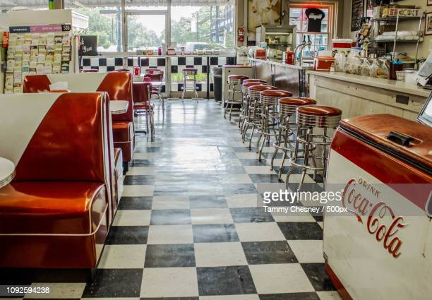 lovelace soda fountain - tammy bar stock pictures, royalty-free photos & images