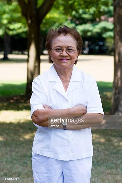 Lovely Asian Senior Citizen