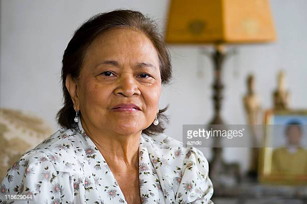 lovely asian senior citizen - pacific islander stock pictures, royalty-free photos & images