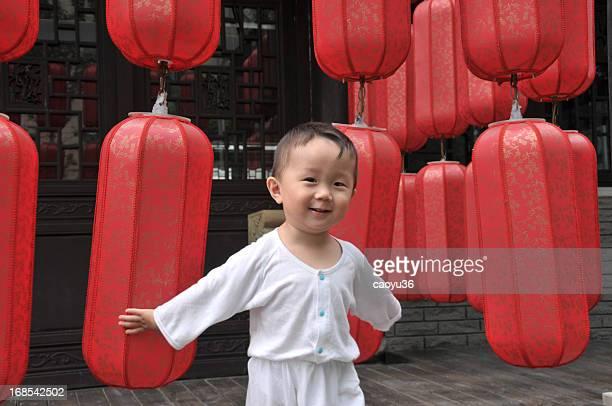 Schöne chinesische baby