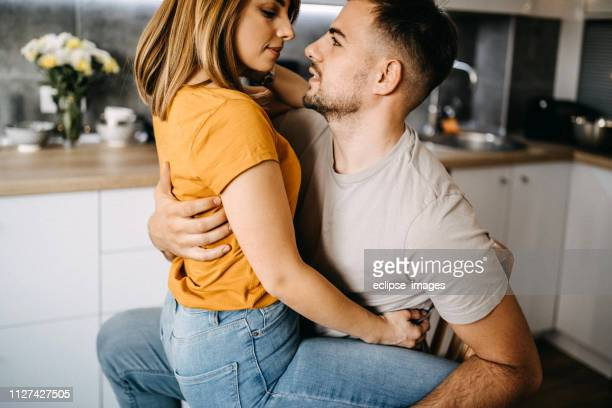 Sexy Romantic Couples Stock Photos And Pictures  Getty Images-6913