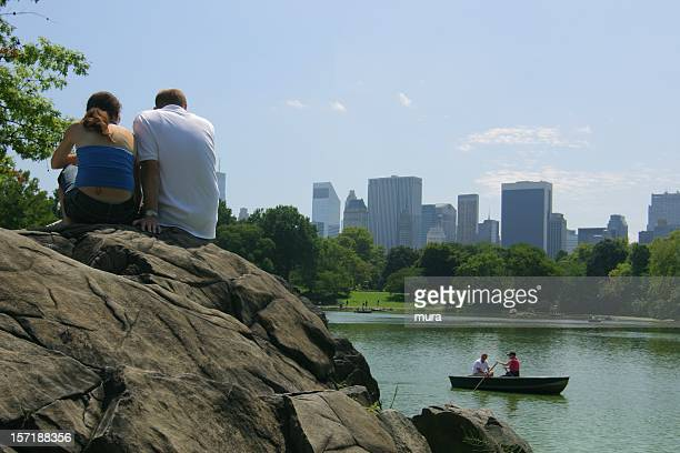 Lovely couple in Central Park