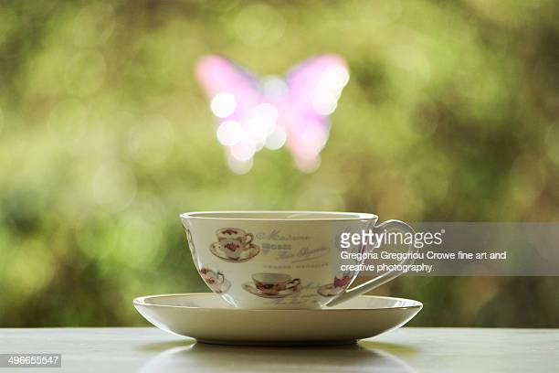 a lovely cup of tea - gregoria gregoriou crowe fine art and creative photography fotografías e imágenes de stock