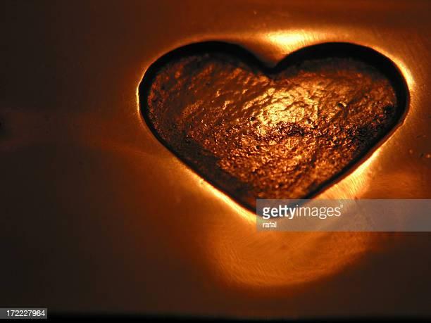 Schönes Herz (Kupfer