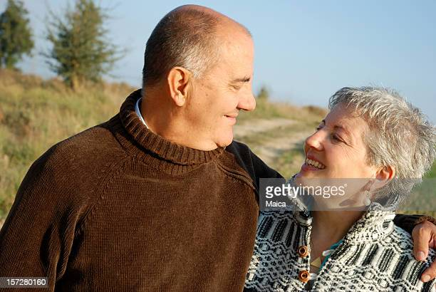 Lovely mature couple