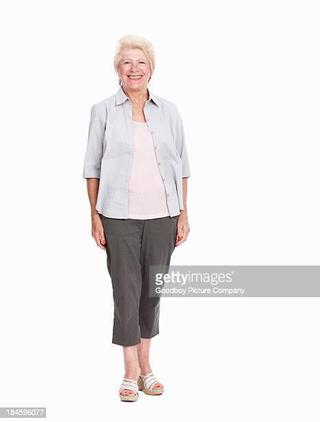 Lovely senior woman