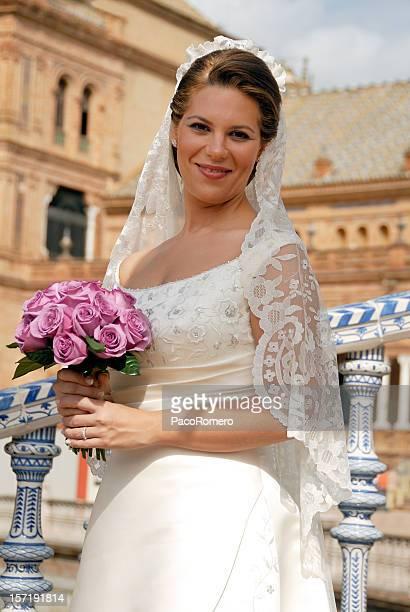Schönen spanischen Braut