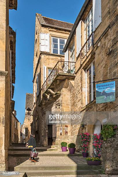 Lovely street of Sarlat