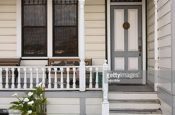 Lovely victorian house with front porch