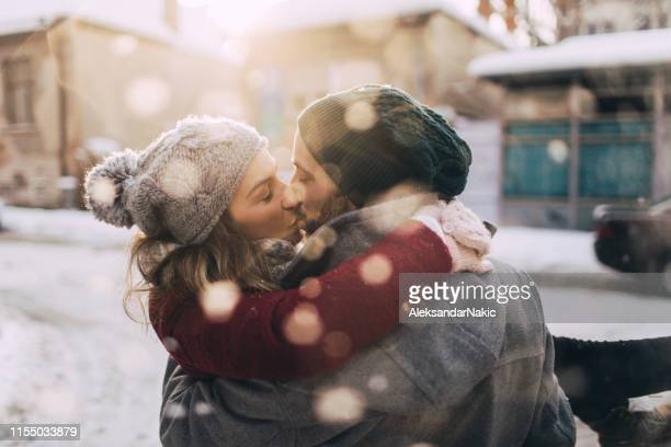 lovely winter day - romanticism stock pictures, royalty-free photos & images