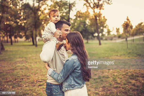 Lovely young family