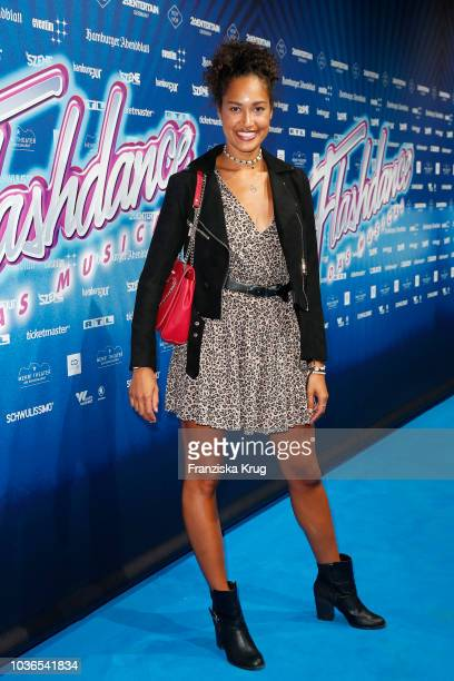Lovelyn Enebechi attends the premiere of 'Flashdance Das Musical' at Mehr Theater on September 20 2018 in Hamburg Germany