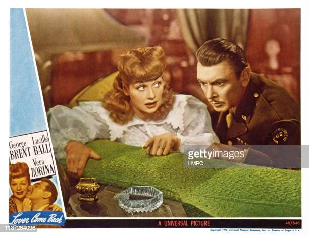 Lucille Ball George Brent 1946