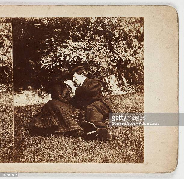 Lovers c 1895 A collection of photographs equipment and printed material tracing the history of photography assembled by Kodak Limited and acquired...
