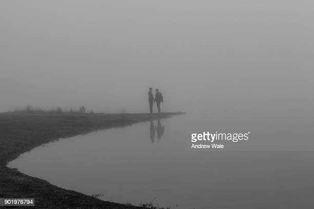 lovers in the mist