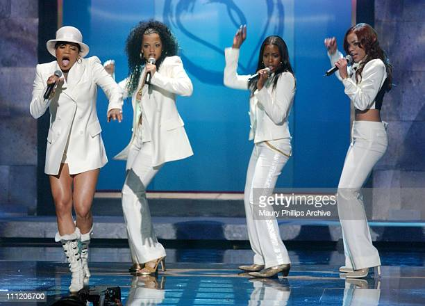 Lovher during The 8th Annual Soul Train Lady of Soul Awards Show at Pasadena Civic Auditorium in Pasadena California United States