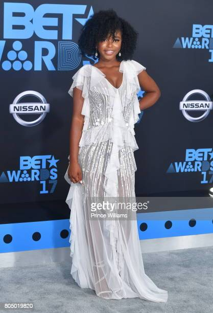 Lovie Simone attends the 2017 BET Awards at Microsoft Theater on June 25 2017 in Los Angeles California