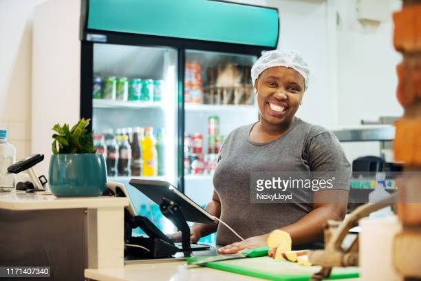 loving a job - cafeteria stock pictures, royalty-free photos & images