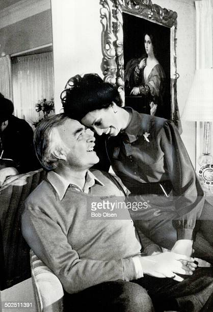 Loving care Former Ontario premier John Robarts shares a warm moment with second wife Katherine after a 1981 stroke His coordination was impaired...