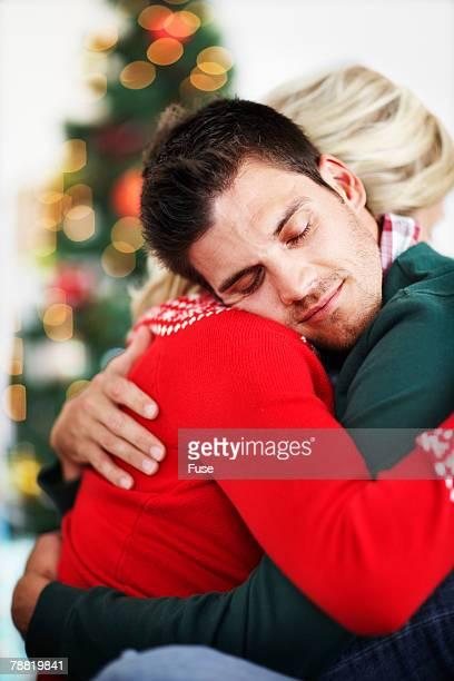 Loving Couple Hugging