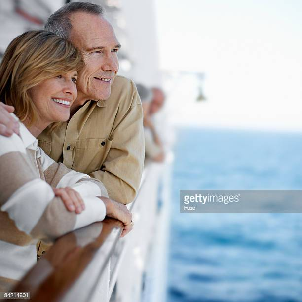 Loving Couple on Cruise Ship