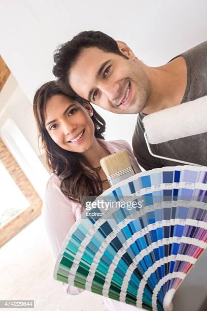Liebespaar malen Ihre house