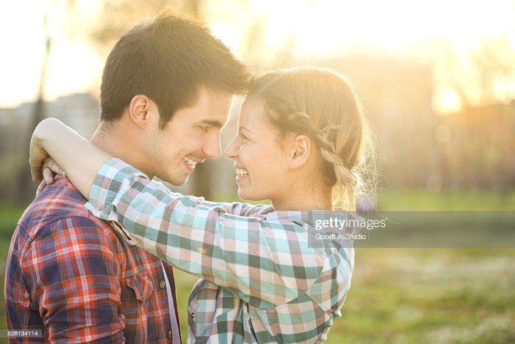 Loving couple : Stock Photo