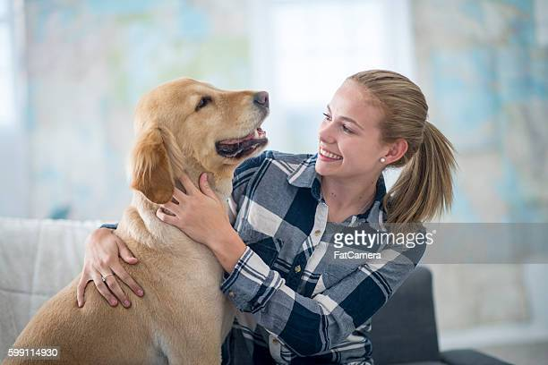 Loving Dog Owner