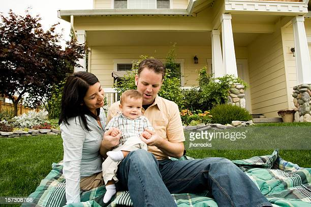 loving family at home - real wife sharing stock photos and pictures