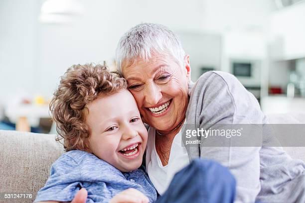 Loving granny