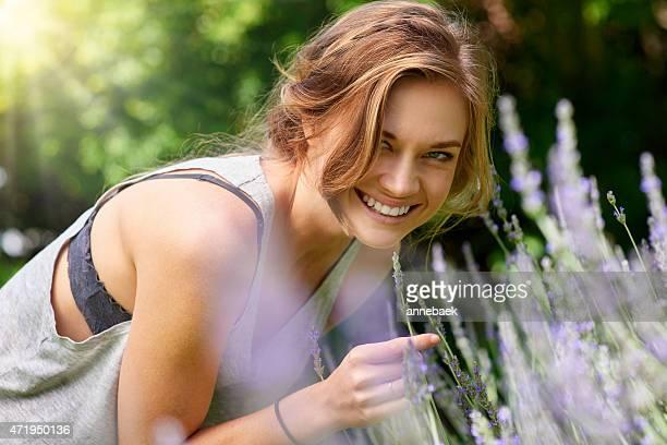 Liebevoll Lavendel