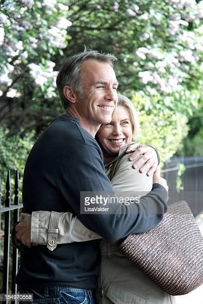 Liebevoll Älteres Paar