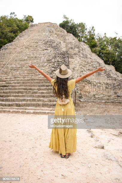 loving mexico. - mayan people stock photos and pictures