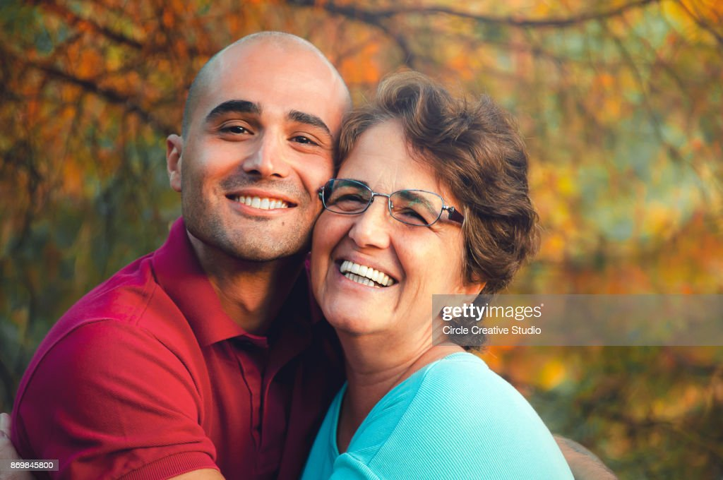 Loving mother and son : Stock Photo