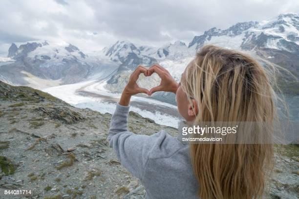 Liebe, Natur und Umwelt, Gletscher in Zermatt