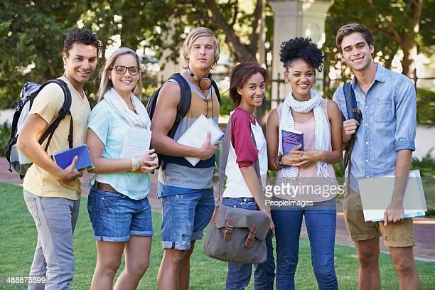 Liebevoll Unsere college Jahre!