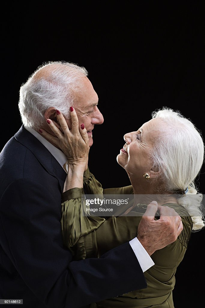 Loving senior couple : Stock Photo