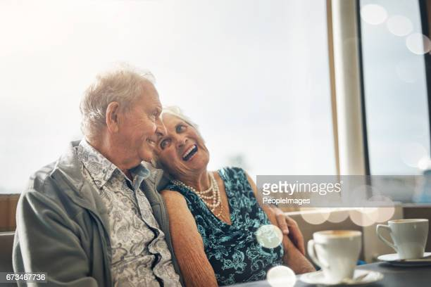 loving the dating experience in the later years - respite care stock photos and pictures