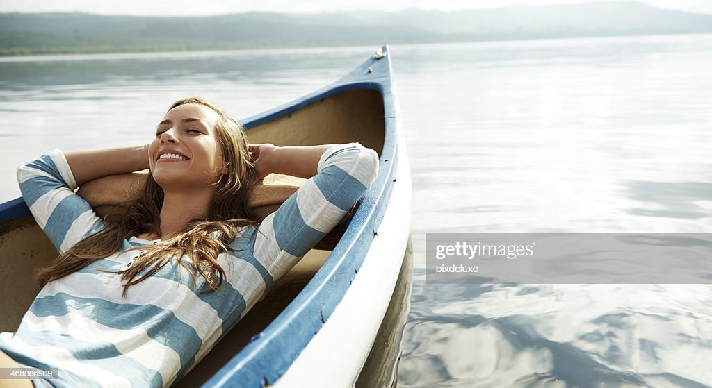 Loving the fresh air : Stock Photo