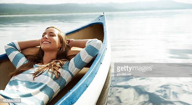 loving the fresh air - summer stockfoto's en -beelden