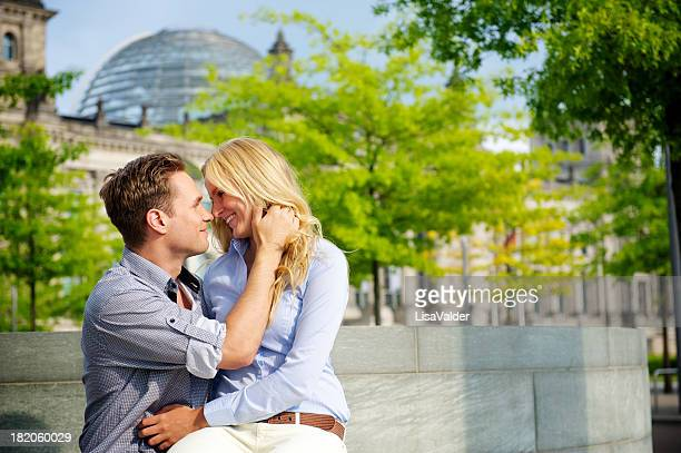 Loving young couple, Berlin, Germany