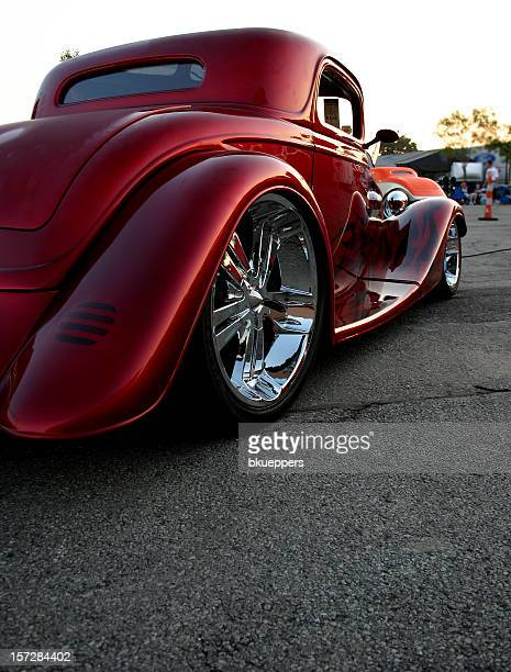 low '34 - hot rod car stock photos and pictures