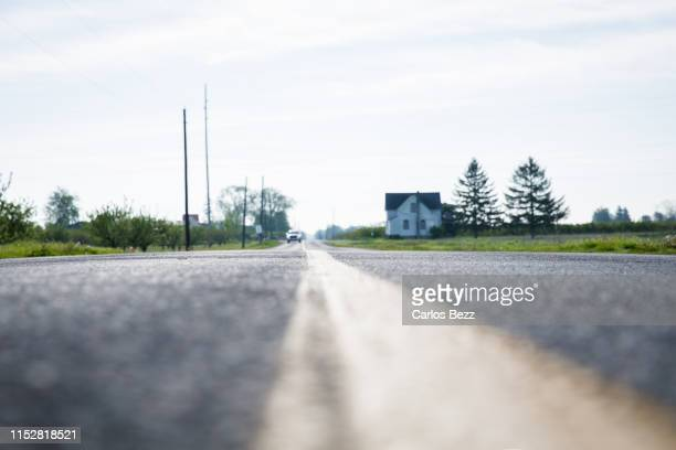 low angle view country side road - low angle view stock pictures, royalty-free photos & images