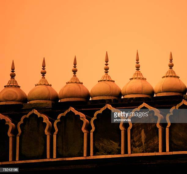 Low angle view of a broken spire of a mosque, Jama Masjid, New Delhi, India