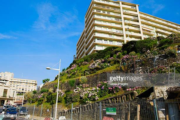 Low angle view of a building, Biarritz, Basque Country, Pyrenees-Atlantiques, Aquitaine, France