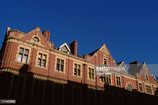 low angle view of a building, dublin, republic of ireland - dublin republic of ireland stock pictures, royalty-free photos & images